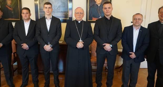 Biskup primio kandidate za Bogoslovno sjemenište