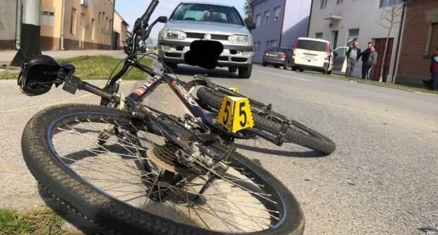U Štamparevoj teško ozlijeđen biciklist