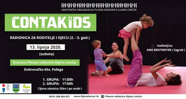 Prijavite se na CONTAKIDS interaktivne radionice za roditelje i djecu od 2 do 5 godina