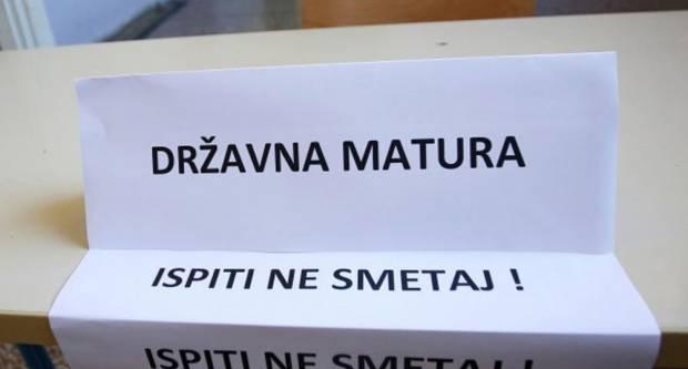 Danas počinje državna matura, prvo se piše ispit iz hrvatskog jezika
