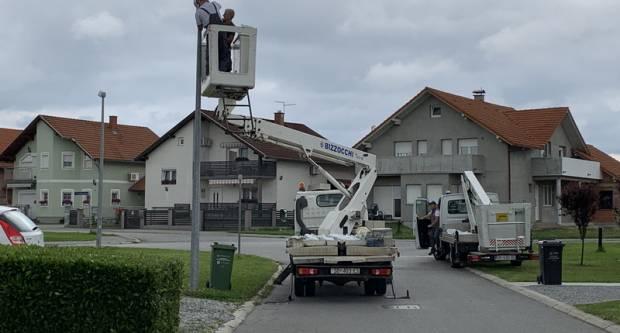 Započeli radovi zamjene postojećih i ugradnji novih LED svjetiljki na gradskim ulicama