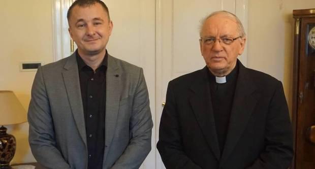 Biskup Škvorčević primio ravnatelja Glazbene škole u Požegi
