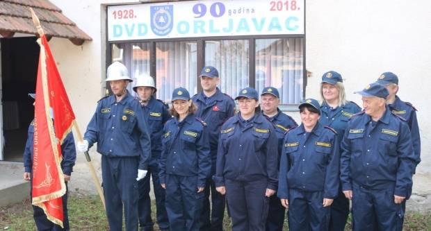 90. obljetnica DVD-a Orljavac i združena vatrogasna vježba