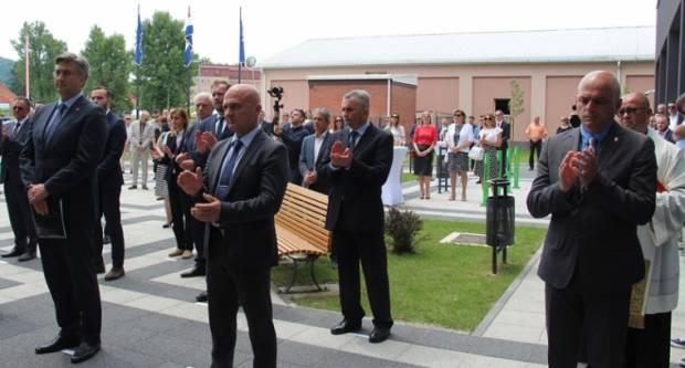 Premijer Andrej Plenković otvorio novi Studentski dom dr. Franjo Tuđman u Požegi