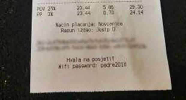 Šokirani konobar: ʺRačun je bio 24 kuna, a turisti su mislili da su ostavili 30'ʺ