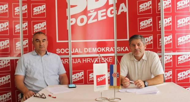 Tiskovna SDP-a PSŽ povodom podignute optužnice protiv gradonačelnika Puljašića i Grada Požege