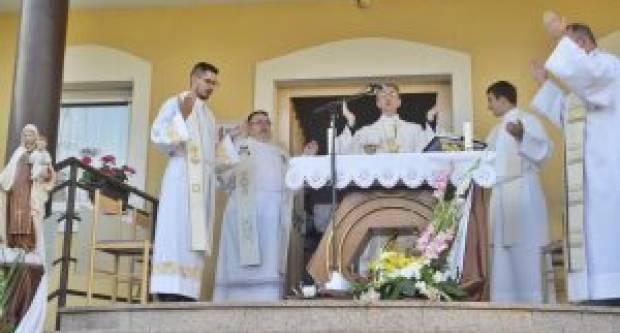 Blagdan Gospe Karmelske u karmelićanskom samostanu u Slavonskom Brodu