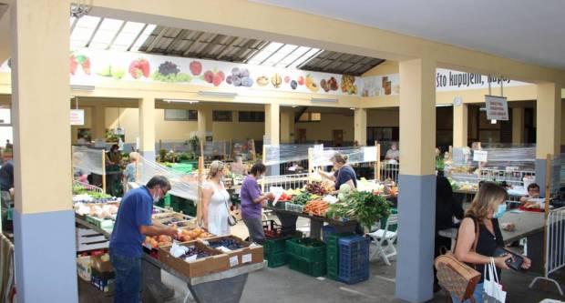 Odluka o raspisivanju javnog natječaja za davanje u zakup poslovnih prostora na Gradskoj tržnici