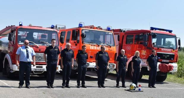 Slavonski vatrogasci odali počast tragično stradalom kolegi