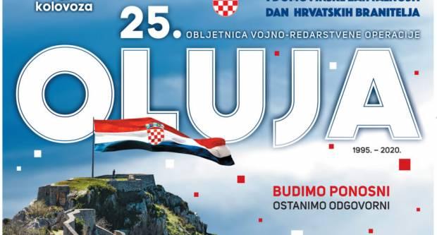 Ususret obilježavanju 25. obljetnice VRO Oluja - Hrvatska vojska omogućila je ostvarenje hrvatske samostalnosti, neovisnosti i slobode