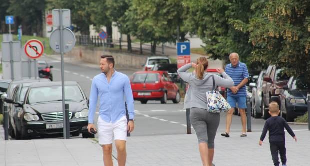 Kišna šetnja centrom Vukovara