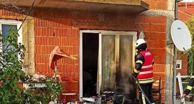 Danas u Županji požar na balkonu obiteljske kuće