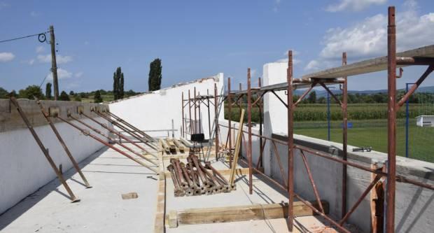 Počela obnova društvenog doma u Golobrdcima