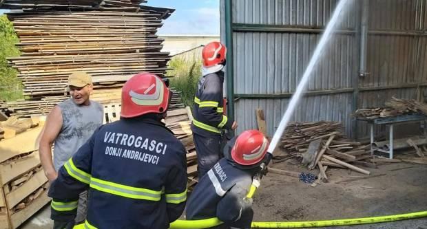Poznat uzrok požara u Donjim Andrijevcima