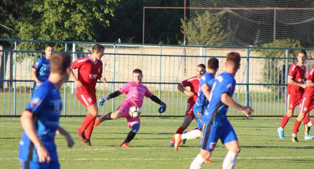 NK Slavoniji tri boda nakon uvjerljive pobjede 2:0 nad NK Vuteks Sloga iz Vukovara