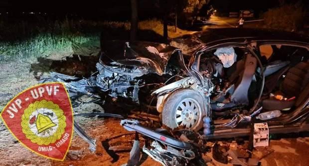 U strašnoj prometnoj nesreći kod Umaga poginuo 19-godišnji Slavonac