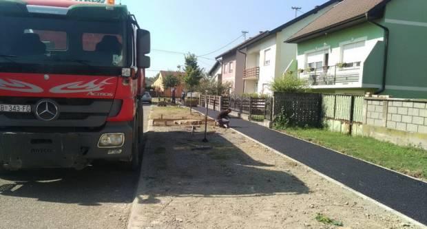 Nove pješačke staze u Ulici Pavla Štoosa i Jure Kaštelana
