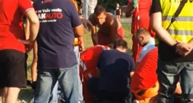 Na moto utrkama na Glavici motociklist pao tijekom vožnje i preminuo