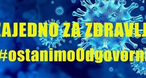 U Vukovarsko-srijemskoj županiji danas osam novozaraženih osoba iz Vinkovaca i Bošnjaka