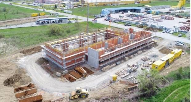 Izgradnja poduzetničkog inkubatora vrijednog 18,6 milijuna kuna odlično napreduje