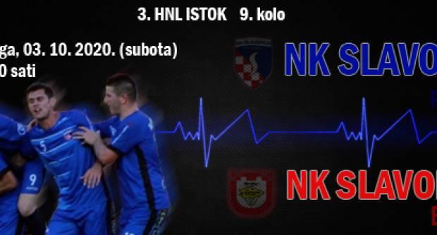 Nogometaši Slavonije u subotu, 03. listopada u 16,00 sati na svom Stadionu igraju protiv Slavonca (Bukovlje)