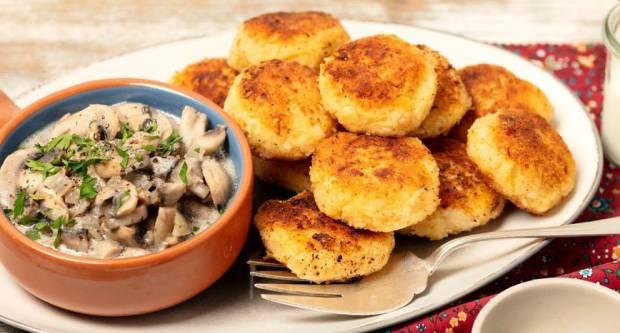 Mljac, kako im odoljeti? Recept za hrskave polpete od krumpira i sira