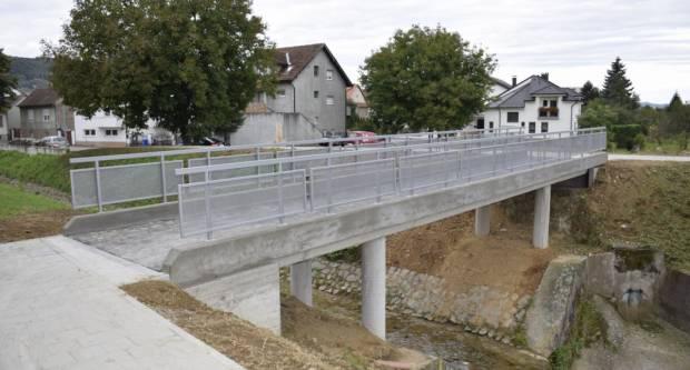Završena izgradnja mosta preko potoka Vučjak