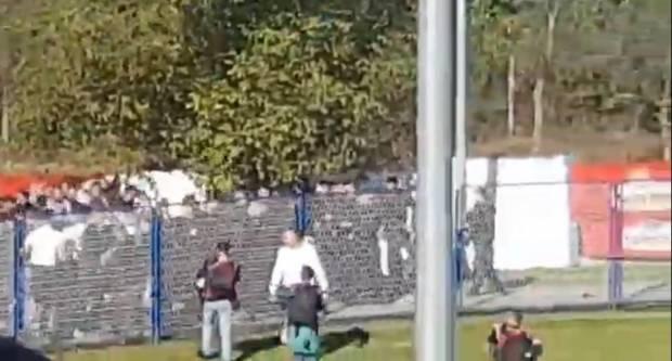 Policija otkrila koliko je navijača privedeno, imamo i snimku sukoba