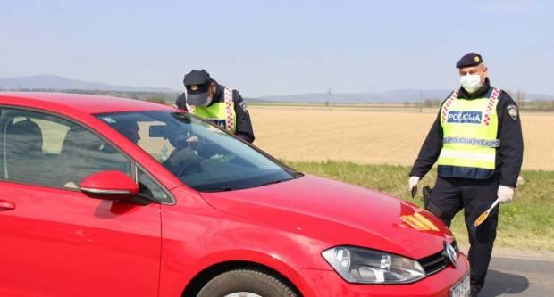 Vikend obilježili pijani vozači, prometne nesreće i 120 prekršaja u prometu