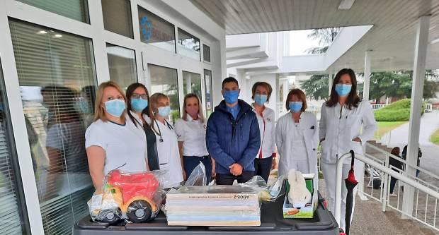 Germania donirala medicinsku opremu Općoj županijskoj bolnici Požega