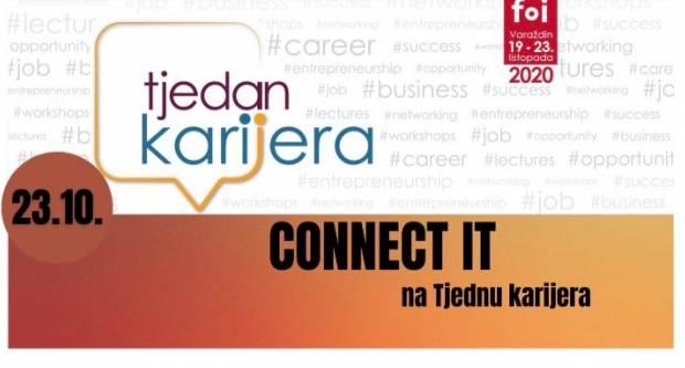 Udruga Connect IT na Tjednu karijera u Varaždinu