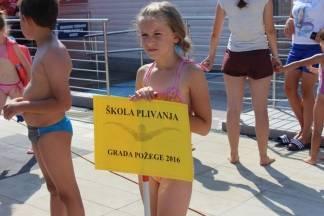 Otvorena škola plivanja u Požegi