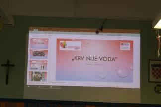 U OŠ Antuna Knižlića održana radionica i predavanje pod nazivom ¨Krv nije voda¨