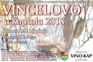 Vincelovo u Kaptolu, 20. siječanj 2018.