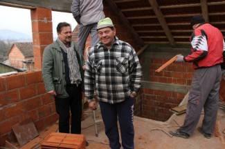 Caritas im obnavlja kuću: ¨Zahvalan sam svima koji pomažu¨