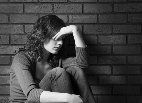 Image result for zabrinuta djevojka